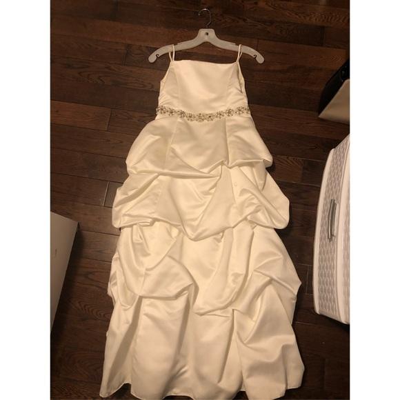 David's Bridal Dress Kids Size 10